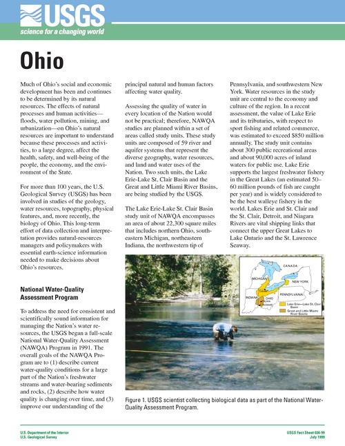 Geoscience in Your State: Ohio | American Geosciences Institute